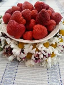 Svenska jordgubbar till midsommar